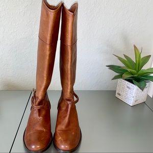 NWOT Frye Melissa Seam Tall boots, size 8